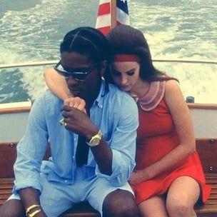 A $ AP Rocky On Lana Del Rey, Illuminati sögusagnir