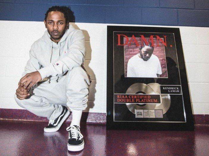 Kendrick Lamars 'HUMBLE'. Er 2. mest streamede sang fra 2017