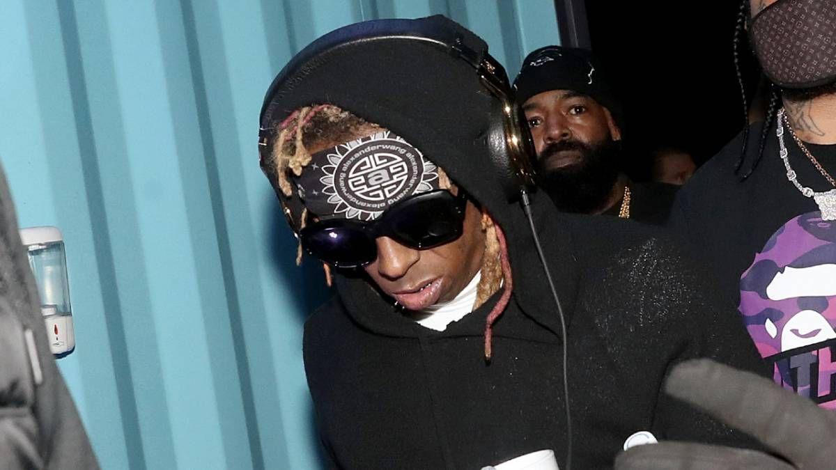 Lil Wayne wird berüchtigtes Stirn-Tattoo ausgebessert