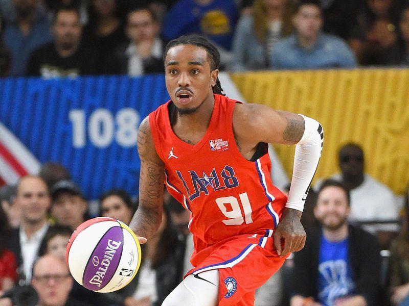 Quavo & Rapsody spielen 2019 NBA All-Star Celebrity Game