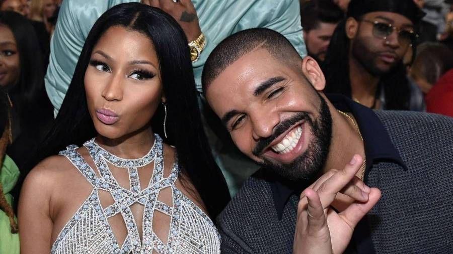 """Nicki Minaj óskar Drake til hamingju með 34 ára afmælið þar sem hann er steiktur fyrir """"Mac & Cheese With Rúsínur"""" veislumatseðil"""