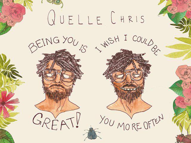 Quelle Chris kündigt an, dass es großartig ist, du zu sein, ich wünschte, ich könnte dich öfter sein