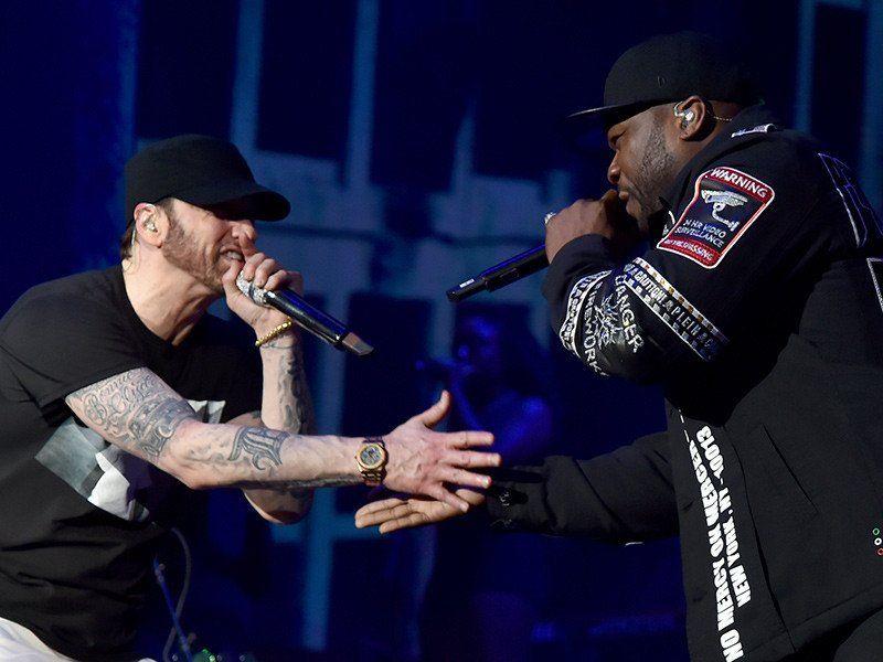 Eminem bringt Dr. Dre & 50 Cent für die Leistung von Coachella 2018 heraus