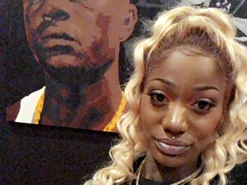 Rapperen Kashay Royalee siger, at Boosie Badazz sætter et hit på hende