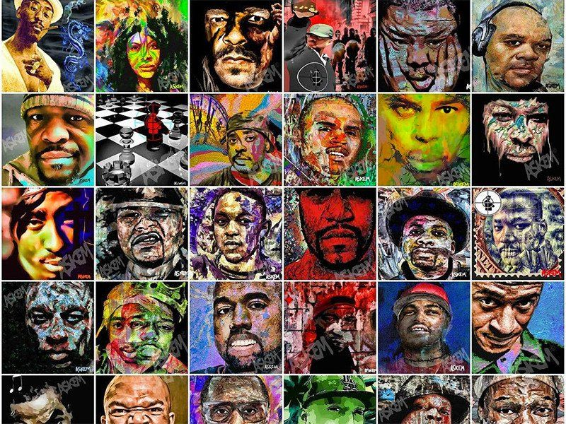 Der bildende Künstler Martin Askem spricht heute im Rap & Hip Hop History Book