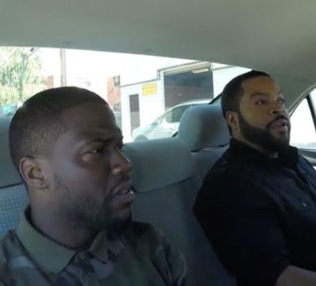 Ice Cube, Kevin Hart und Conan O'Brien helfen einem studentischen Fahrer
