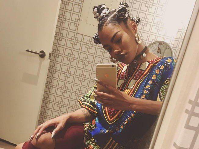 Teyana Taylor führt während des G.O.O.D. Musik-Popup
