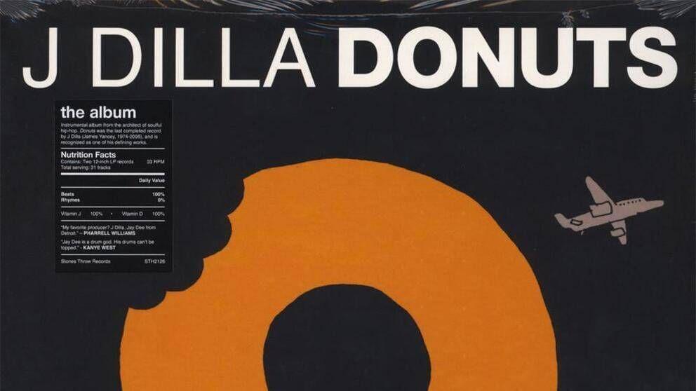 Das klassische Album 'Donuts' der Legende des verstorbenen Produzenten J Dilla, das in einem Sample-Prozess zum Ziel hat