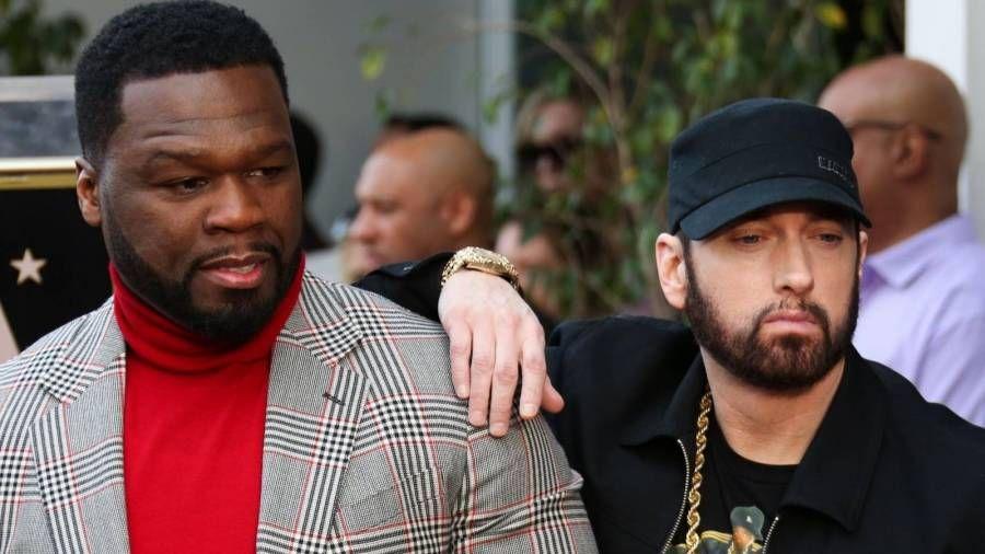 50 Cent Crown Eminem 'Bester Rapper der Welt', während er sich groß macht