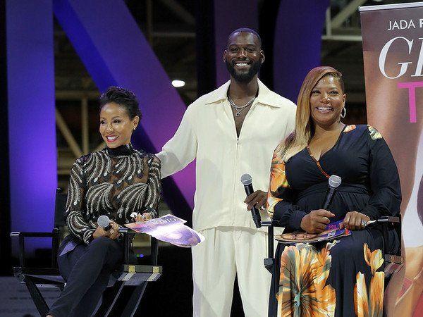 Queen Latifah, Jada Pinkett-Smith und die Besetzung von 'Girls Trip' genießen das Essence Fest