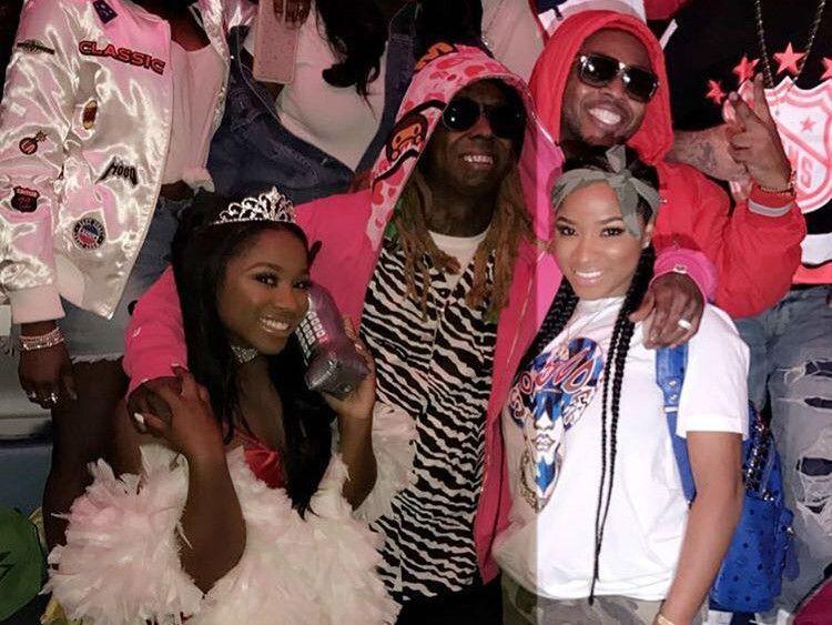 Lil Wayne & Toya Wright feiern den 18. Geburtstag von Reginae Carter