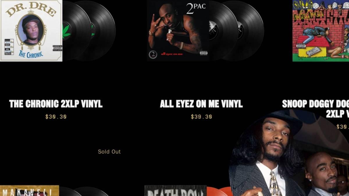 Death Row Records rouvre pour Pump Snoop Dogg, Dr.Dre, 2Pac et plus de musique classique, de merch et de NFT