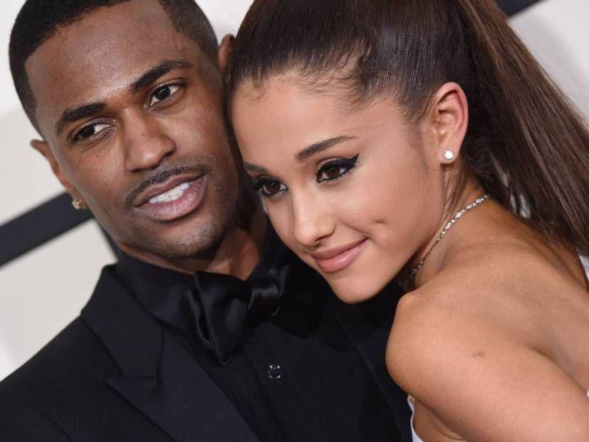 Big Sean og Ariana Grande lentu í því að yfirgefa L.A. stúdíó saman