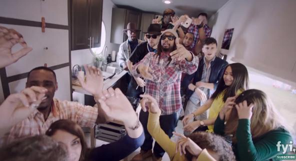 Lil Jon kastar Tiny House Nation Party með FYI