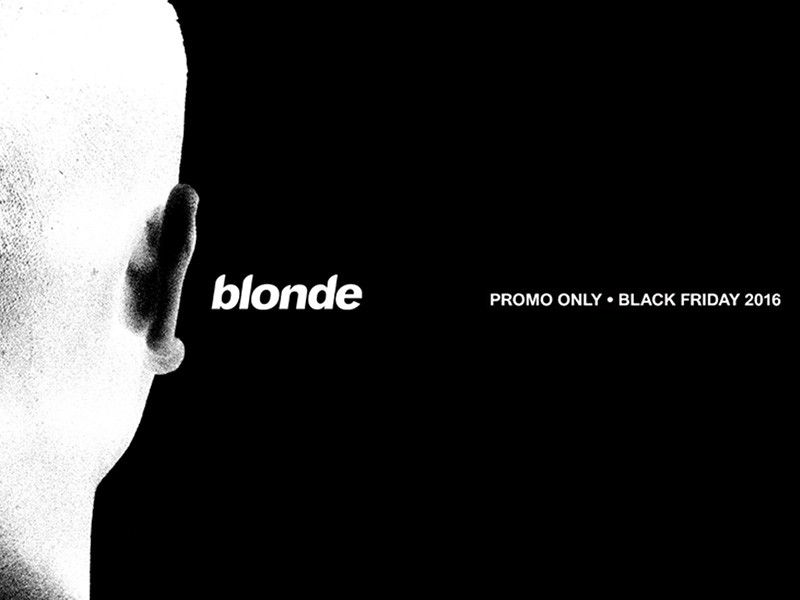 La `` blonde '' de Frank Ocean disponible sur vinyle mais il faut agir vite