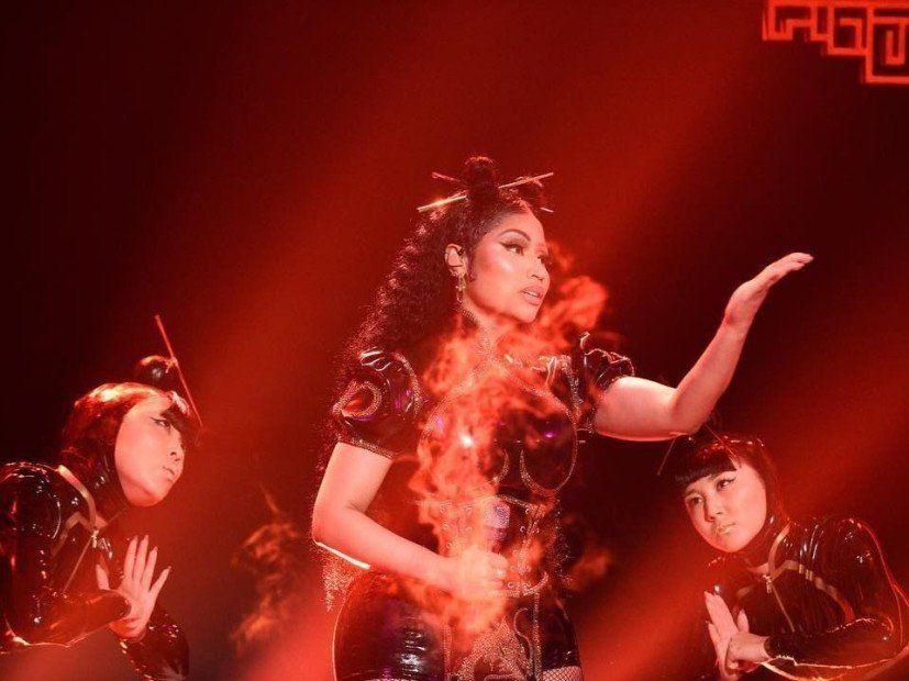 Twitter schreit nach kultureller Aneignung nach Nicki Minajs 'SNL'-Performance