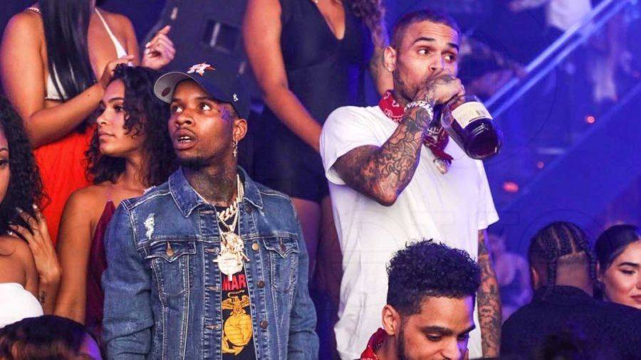 Chris Brown og Tory Lanez fælles albumannoncering tegner vittigheder i hjemmet på Twitter