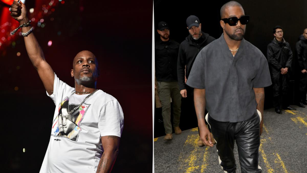 Kanye West & Balenciaga gehen zur Hälfte auf DMX Tribute Merch