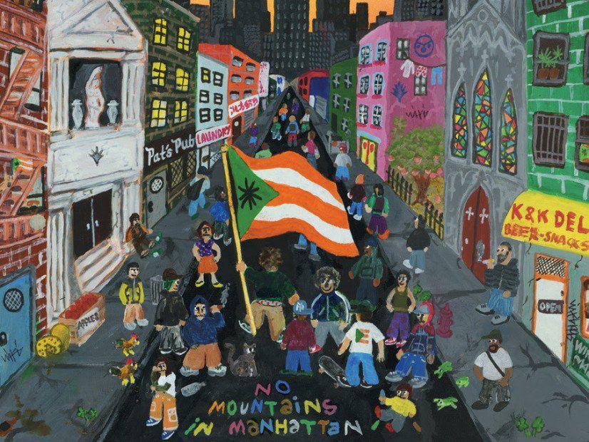 Wiki veröffentlicht das Album 'No Mountains In Manhattan