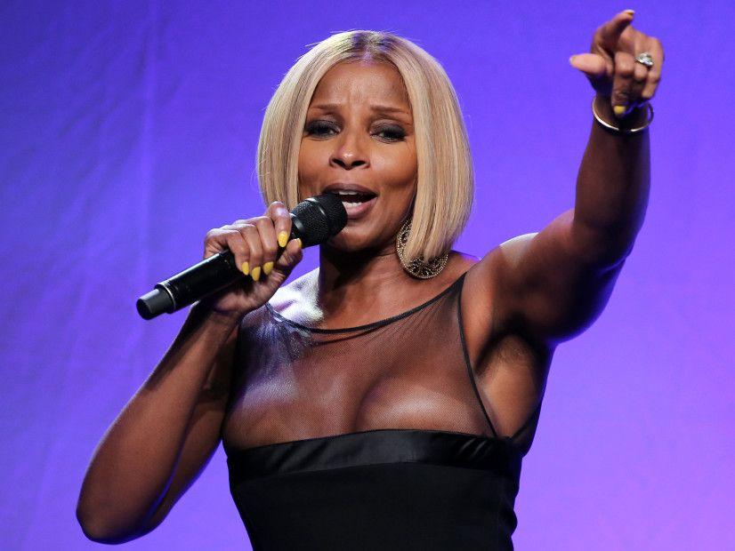 Mary J. Blige setter ny reklametavleplate
