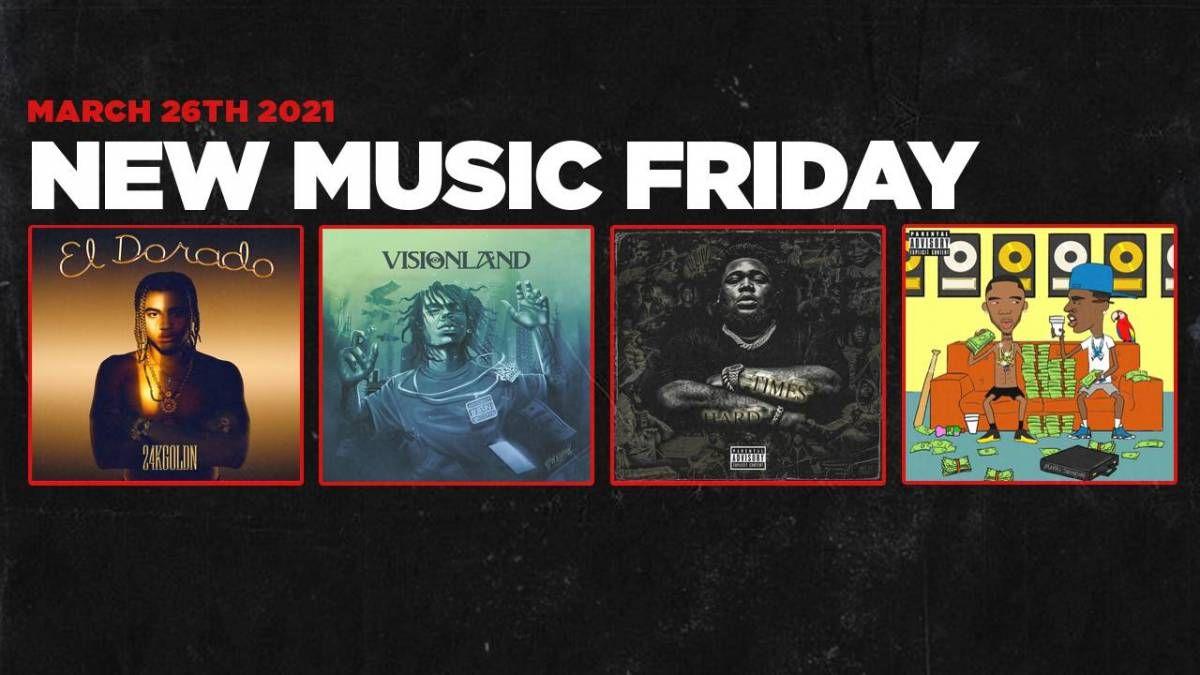 Ny musik fredag - Nye album fra YBN Nahmir, Rod Wave, Young Dolph & Key Glock, 24kGoldn + Mere