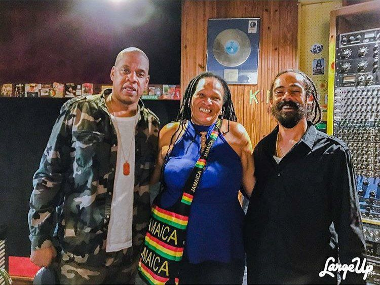 Jay Z & Damian Marley haben in Jamaika wirklich an Musik gearbeitet