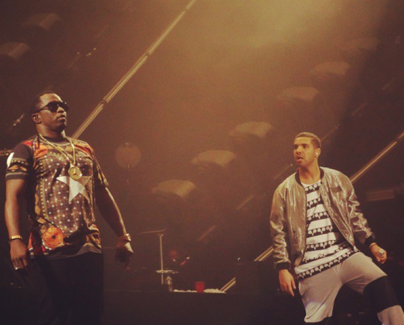 Puff Daddy, Drake kämpfen Berichten zufolge in Miami über '0 bis 100' Beat; Diddy Disses Drake im alten Video