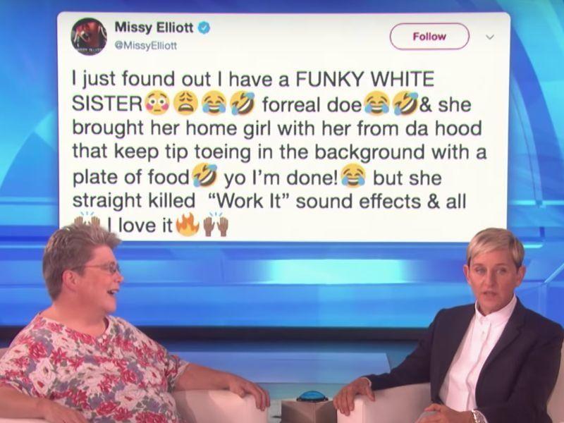 Missy Elliott & ihre 'Funky White Sister' führen 'Work It' durch