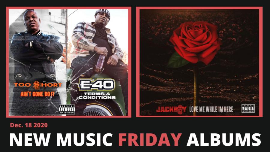 Neue Musik Freitag - Neue Alben von E-40 & Too $ hort, Jackboy, Pouya & Fat Nick, Conway The Machine & More