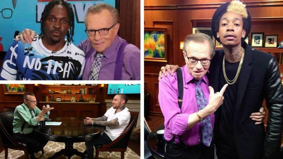 Larry Kingi xatırlamaq: İkonik Radio Aparıcısı Rap Ulduzları Qril ızgara üçün sonrakı karyerasını həsr etdi Wiz Khalifa, Fransız Montana, Mac Miller və daha çox