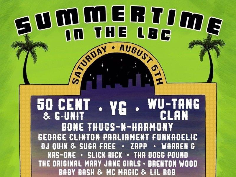50 Cent, Wu-Tang Clan & YG Headliner Sommer im LBC Festival