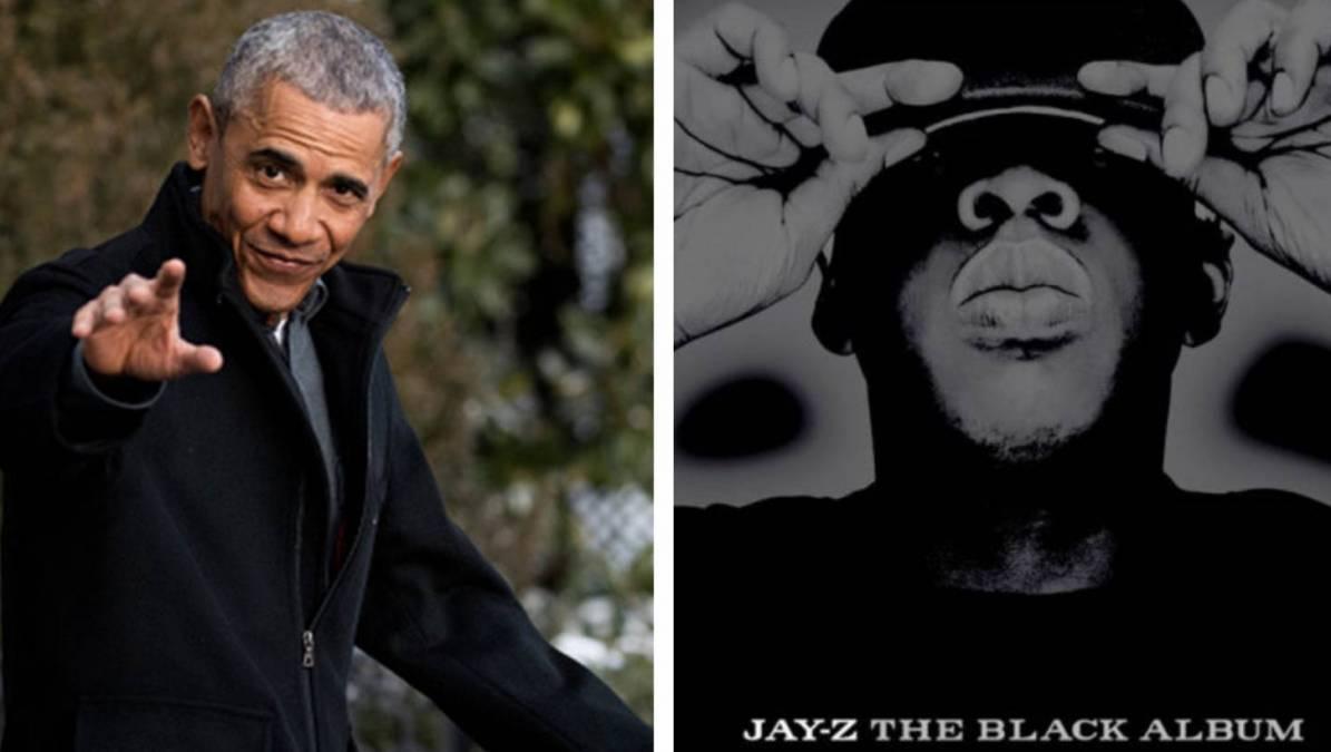 """Barack Obama schreibt diesen JAY-Z-Vers """"Schwarzes Album"""" für das Betanken der 1. Präsidentschaftskampagne zu"""