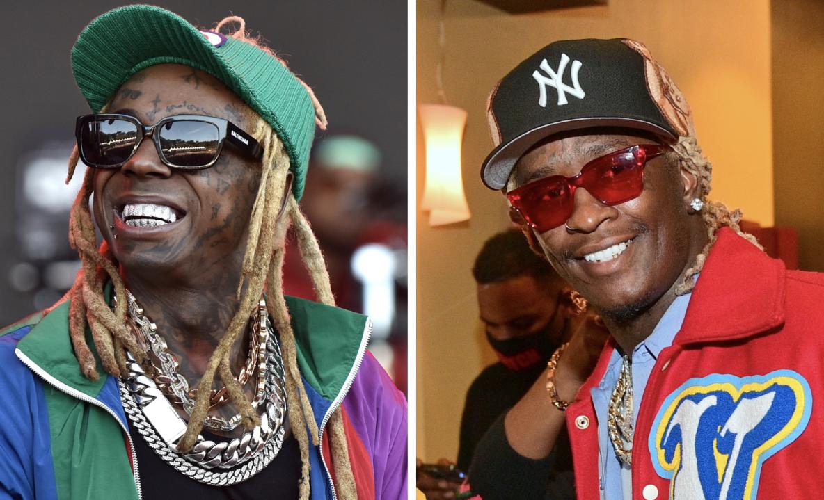 Lil Wayne kommt mit Young Thug ins Studio