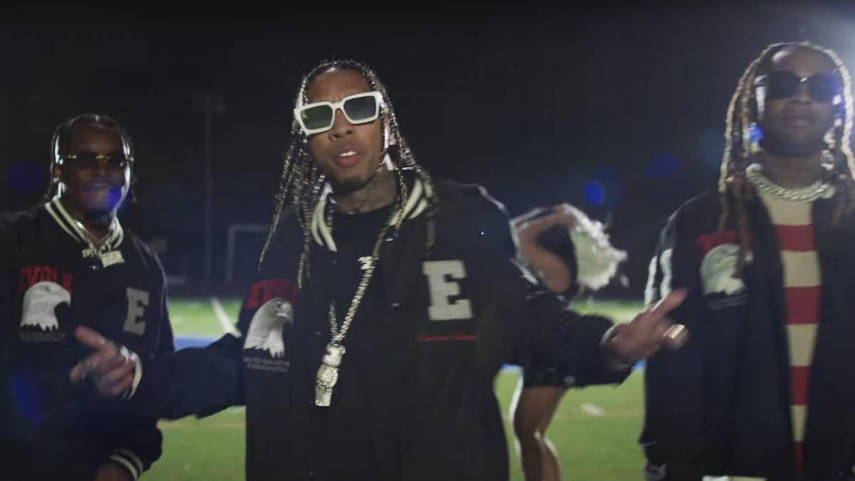 Blxst, Ty Dolla $ ign et Tyga apportent les vibrations de la fête HBCU à la vidéo «Chosen»