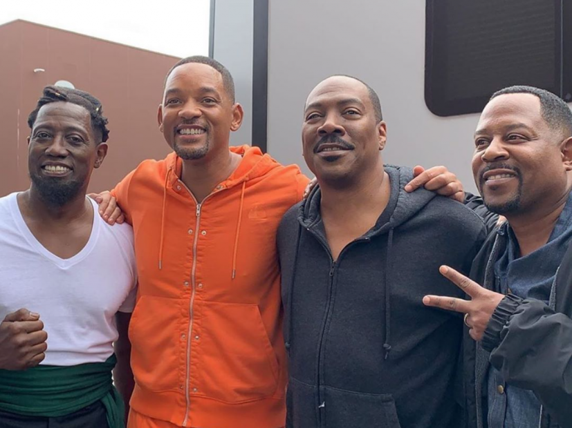 Will Smith schreibt mit Martin Lawrence, Wesley Snipes und Eddie Murphy