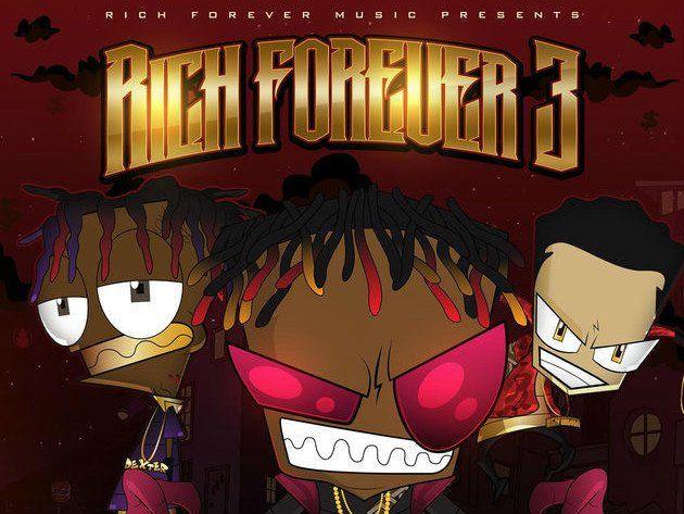 Rich The Kid deilir 'Rich Forever 3' Mixtape