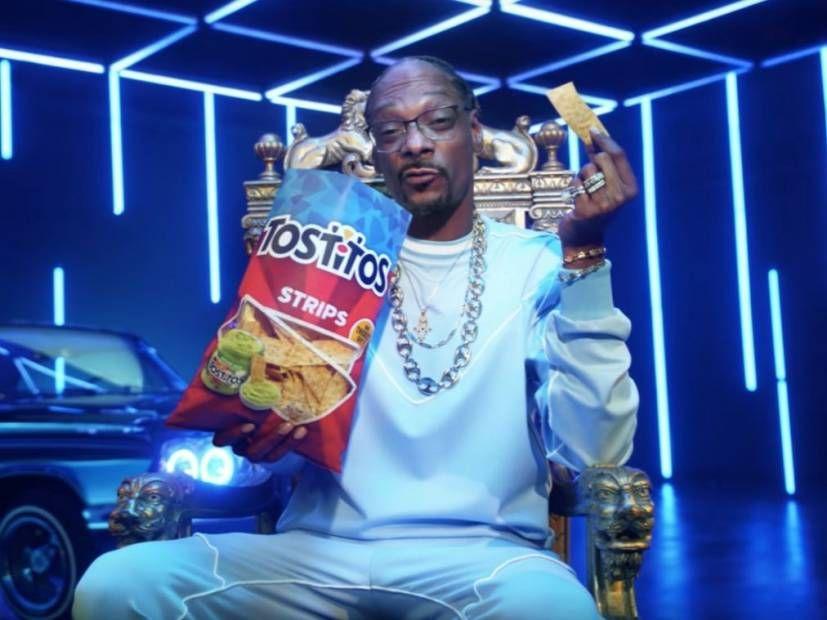 Snoop Dogg ist anscheinend auf einem Ad Bender
