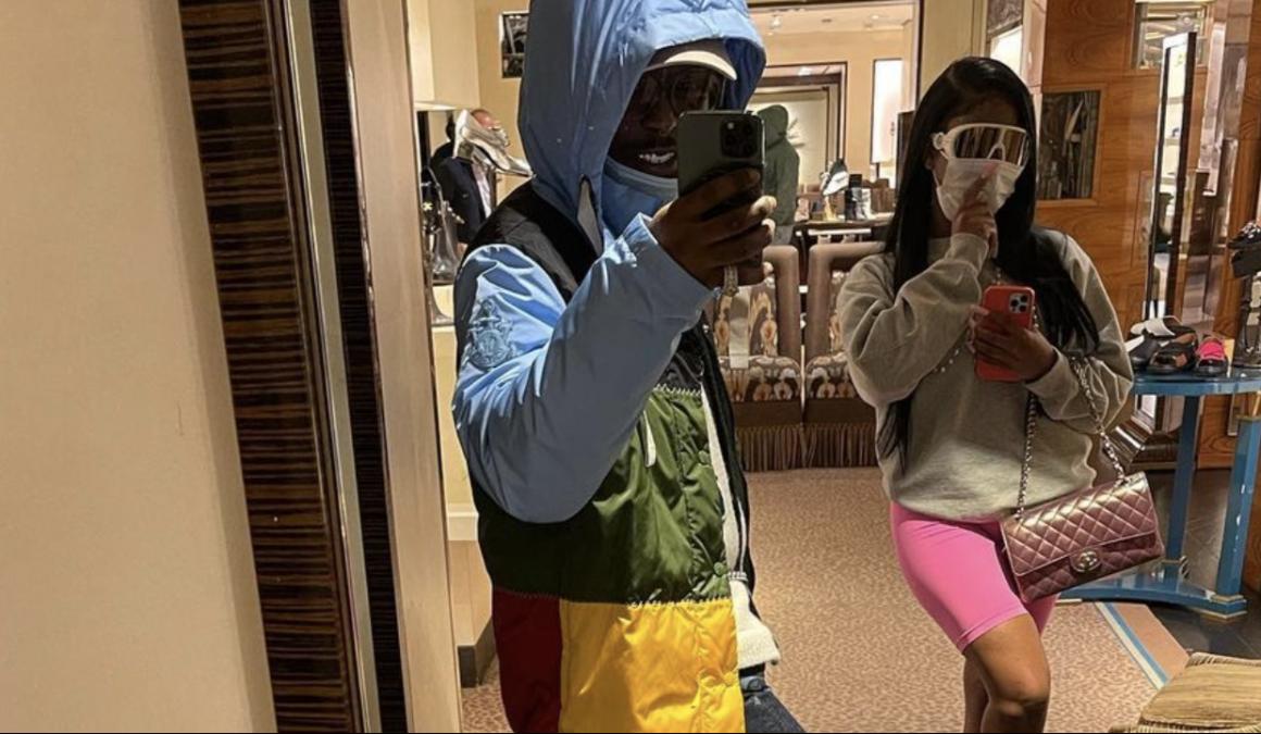 Lil Uzi Vert schenkt City Girl JT mit seiner ersten diamantbesetzten Kette für die Liebe