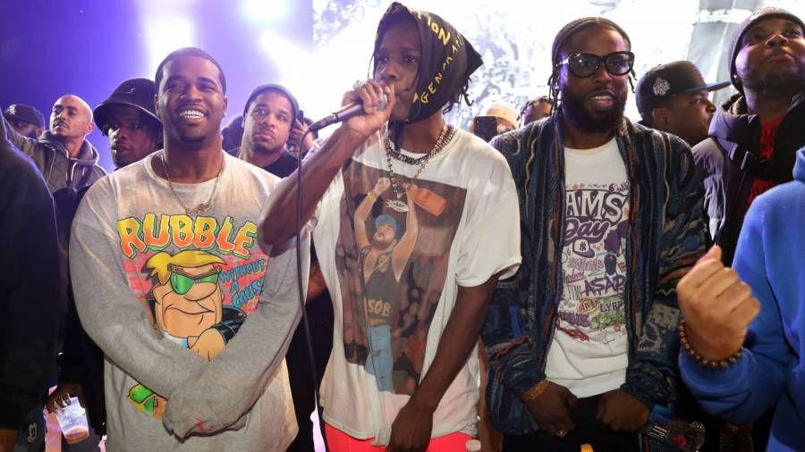 A $ AP Mob Freestyle lässt Fans an 'Cosy Tapes Vol. 1 denken. 3 'ist unterwegs