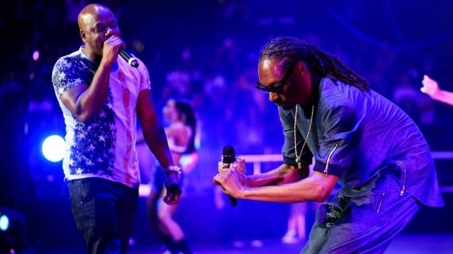 Per daug $ hort, Ice Cube, Snoop Dogg ir E-40 sudarė supergrupę