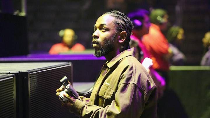 Kendrick Lamar's 'DAMN'. Zertifiziertes Platin in Großbritannien