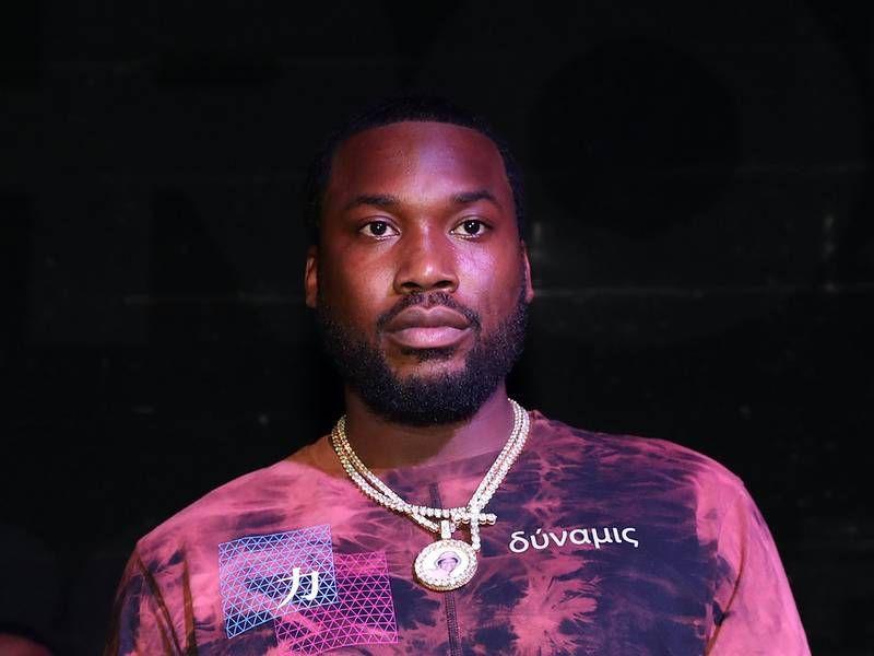 Meek Mill aparentemente responde aos comentários de 50 Cent 'Eu queria dar um soco nele'