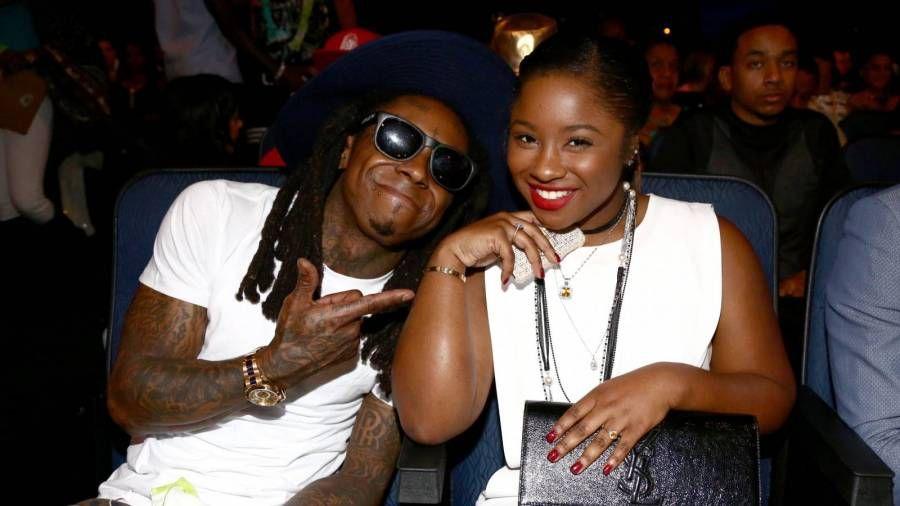 Lil Wayne dukra reaguoja į jo naujausią PDA įrašą su mergina Denise Bidot
