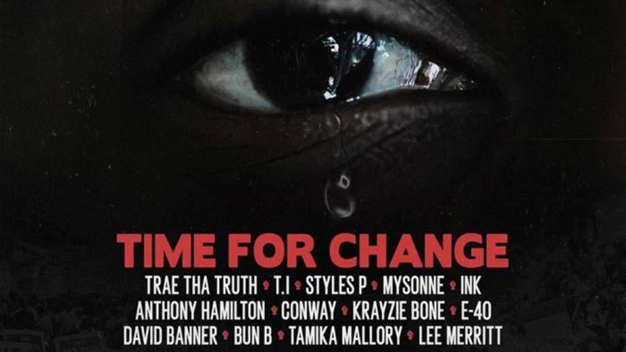 """T. I., Conway, E-40, Krayzie Bone & More, rekrutiert für die Protesthymne """"Time for Change"""""""