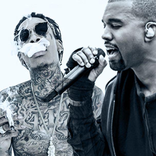 Kanye West və Wiz Khalifa barışıq
