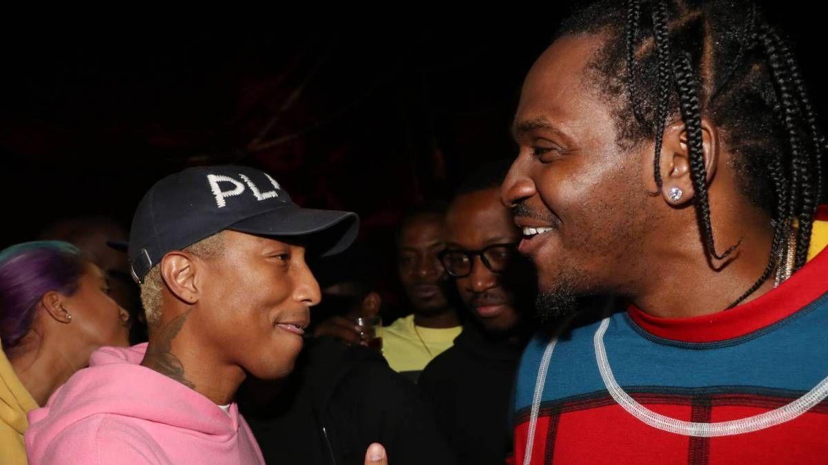 """Pusha T priima """"Kokaino dr. Seuso"""" slapyvardį su naujausiu """"Pharrell Studio"""" susitikimu"""