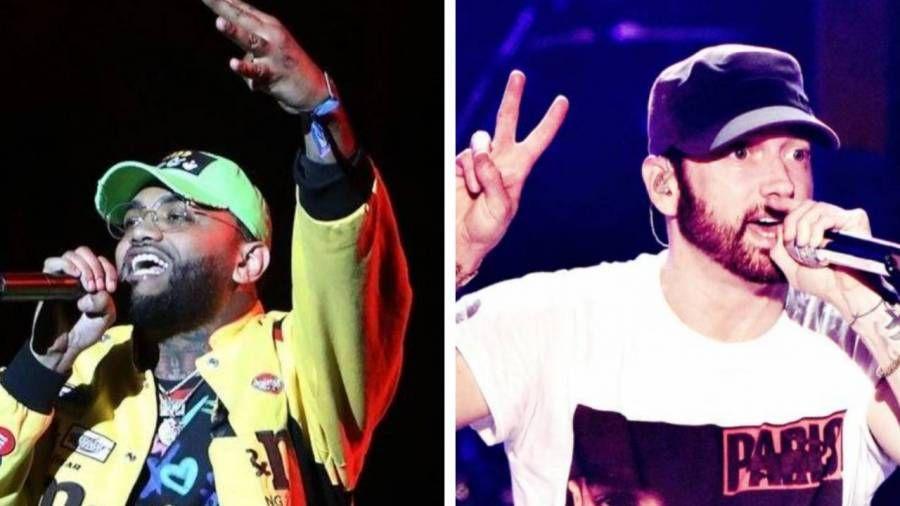 Joyner Lucas enthüllt, wie er Logik über Eminem ausgewählt hat, um auf der Hit-Single 'ISIS' zu erscheinen.