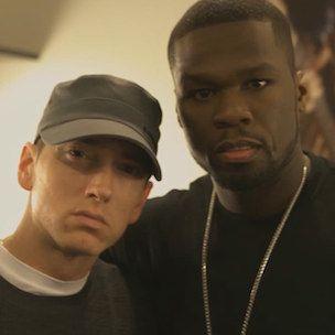 Eminem et 50 Cent discutent de la création de `` l'attente patiemment '