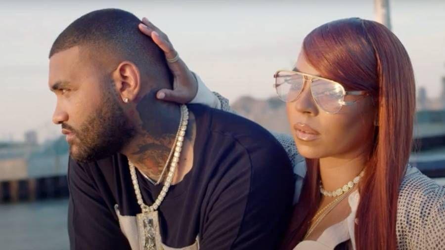 Joyner Lucas & Ashanti lösen Beziehungsgerüchte nach dem zungenlutschenden Video 'Langsam fallen' aus