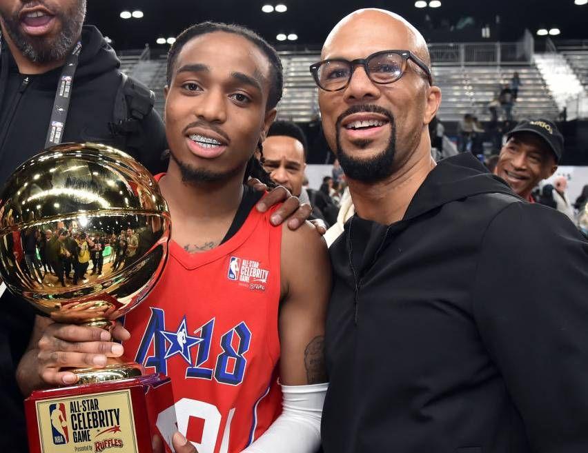 Chance, dass Rapper, Quavo, Common, Jidenna und mehr im Jahr 2020 NBA Celebrity All-Star Game spielen